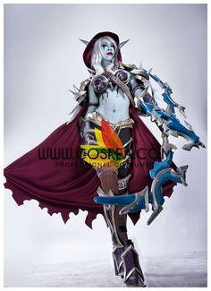 World of Warcraft Sylvanas Windrunner Upgraded Cosplay Costume