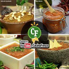 4 salsas muy mexicanas para acompañar tus platillos favoritos