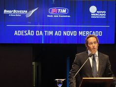 TIM's IPO at Bovespa | Photo by Marcel Salim