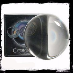 Magic Crystal Balls for Reading Divination Scrying Healing Nemesis Wicca Gift Wicca Witchcraft, Wiccan, Pagan, Crystal Ball, Clear Crystal, Witch Shop, Glass Packaging, Large Crystals, Weird And Wonderful