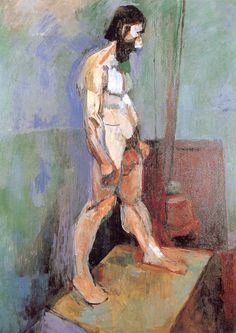 NUDE MAN  99.3 x 72.7 cm.  The Museum of Modern Art, New York   1900