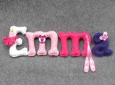 Literki z filcu - Emma - 12-16cm