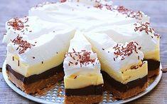 Fenomenálna nepečená čokoládová torta, ktorú si obľúbite. Pripravená rýchlo, je nenáročná na prípravu a zvládnu ju aj začiatočníci v kuchyni. - Domáce recepty Mini Cheesecakes, Baked Brie Appetizer, Cheesecake Ice Cream, Kolaci I Torte, Ice Cream Candy, Czech Recipes, Healthy Cake, Homemade Cookies, Sweet Tarts