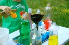 Potion Lab - I would have had a blast doing this as a kid! #preschool activites