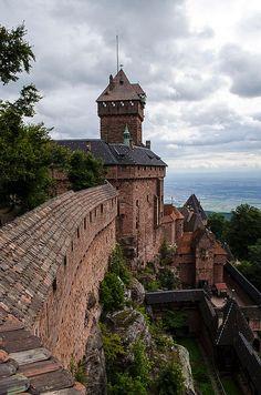 Château du Haut-Kœnigsbourg, Orschwiller, Alsace, France
