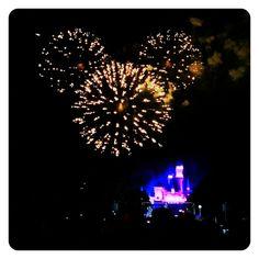 Fireworks at Disneyland!