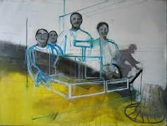 Denis castellas Objects, Scene, Paintings, Contemporary, Drawings, People, Inspiration, Color, Artists