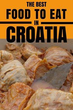 Traditional Croatian Food Blog   Croatia Travel Blog