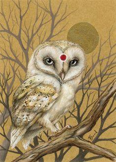 Miss Owl by tanya bond