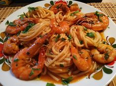 Greek Desserts, Greek Recipes, Fish Recipes, Seafood Recipes, Cooking Recipes, Healthy Recipes, Mediterranean Recipes, Main Dishes, Spaghetti