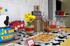 Toy Story/Cowboy Birthday Party Ideas | Photo 4 of 38 | Catch My Party