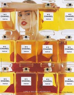 Estella Warren in a 1998 Chanel No. 5 fragrance ad
