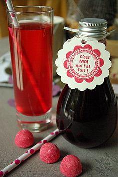 sirop de fraises Tagada