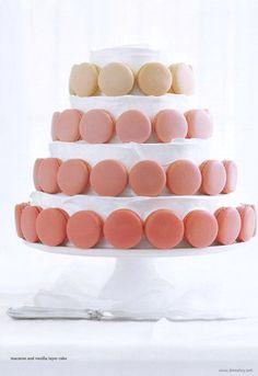 Donna Hay's Macaron & Vanilla Layer Cake