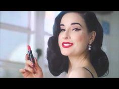 Dita Von Teese shows us her morning routine - YouTube