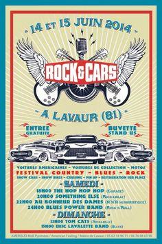 Festival ROCK'&'CARS, Lavaur (81500), Midi-Pyrénées