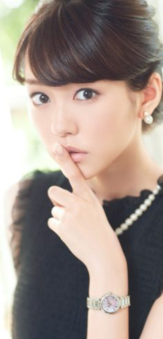 Mirei Kiritani (Japanese actress, fashion model, news caster)
