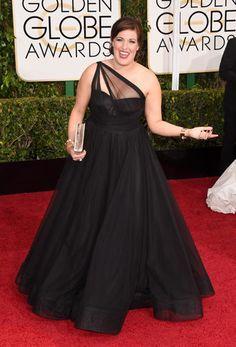 Golden Globes 2015 Red Carpet Arrivals   Allison Tolman