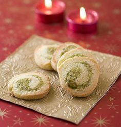 Spirales sablées à la pistache, la recette d'Ôdélices : retrouvez les ingrédients, la préparation, des recettes similaires et des photos qui donnent envie !