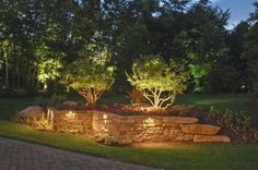 16 Best Retaining Wall Lights Images Landscape Lighting