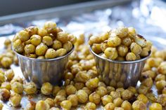 Try these healthy, protein rich chickpeas when you need an easy on-the-go meal!  #protein #healthyoptions