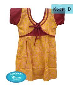 kode D size :3-4y pjg baju 60cm lbr baju 32cm harga 85K