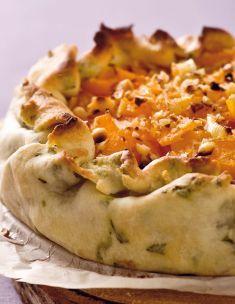 Sfoglia ripiena con zucca e porri alle nocciole - Tutte le ricette dalla A alla Z - Cucina Naturale - Ricette, Menu, Diete