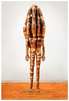Erik Schnack 'Wired' 2016 Installation Art, Sculpture, Fashion, Moda, Fashion Styles, Sculptures, Sculpting, Fashion Illustrations, Statue