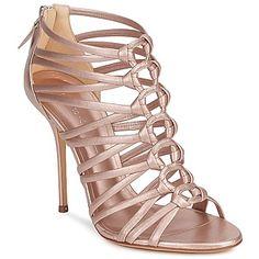 Sandalen / Sandaletten Casadei Rose - Schuhe Damen 503,30 €