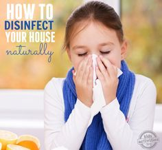 how to disinfect your house naturally