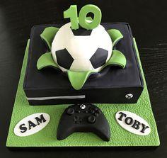 Xbox One S Cake Seans Birthday In 2019 Pinterest Cake