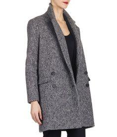 515f71a482a E-shop Manteau En Laine Gris Pablo pour femme sur Place des tendances  Groupe Printemps