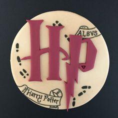 Harry Potter Marauder Map Cake Topper-Fondant