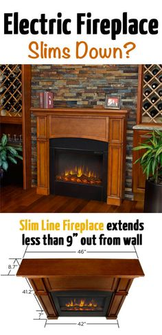 1000 Ideas About Electric Fireplaces On Pinterest Wall