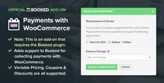 Booked Payments with WooCommerce v1.3 (Add-On)