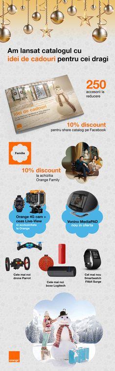 Oferte și idei de cadouri de la Orange