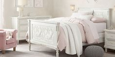 RH baby&child's Girl Bedroom Collections:Shop for kids beds and trundles from Restoration Hardware Baby & Child.  Our beds are handcrafted of hardwoods for lasting durability.