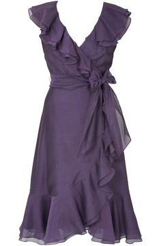 dress to flatter all body types...MOB dress... This would look great on mom
