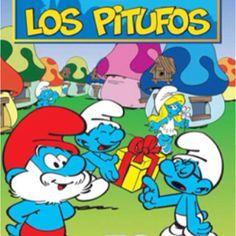 Los Pitufos (1981-1989). Los pitufos viven en su aldea y el brujo Gargamel y su gato Azrael, intentan siempre y por todos los medios capturar a los pitufos con trampas.