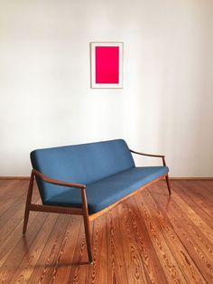 Kirschholz Sofa Hartmut Lohmeyer Wilkhahn Teak 50er 60er Danish Modern Design   eBay