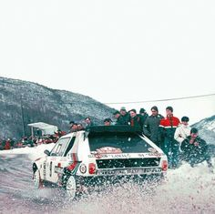 Henri Toivonen Martini Racing, Lancia Delta, Rally Car, Car And Driver, Car Manufacturers, Monte Carlo, Cars And Motorcycles, Race Cars, Nostalgia