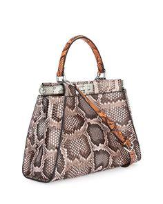 Fendi Peekaboo medium python bag $7,700 NMS16_V2RHA