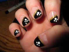 Simple & Elegant Nail Art Tips - Nail Designs 2015 Simple Elegant Nails, Elegant Nail Art, Beautiful Nail Art, Cute Nail Art, Easy Nail Art, Cute Nails, Nail Art Hacks, Gel Nail Art, Shellac Nails