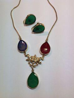 Vintage Gold Filled Pear Shape Scarab by NannysHiddenTreasure, $85.00