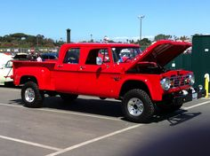 66 Power Wagon.  I want it.