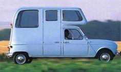 renault vier als camper / la fameuse 4L en camping-car
