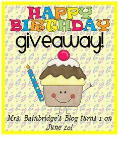 Teacher Idea Factory: BIRTHDAY BASH - CLASSROOM + BAINBRIDGE-STYLE