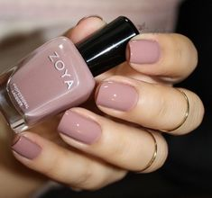 Valentine's Day light pink natural nails