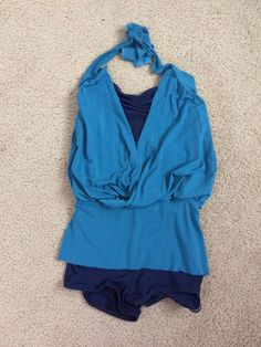 NWT Main Street Contemporary Dance Shorts wine teal Spandex child /& adult Sizes