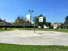 The basketball court located on the left side of Providence Ranch Park in Eastvale, California. http://youreastvalerealtor.com/eastvale-parks/